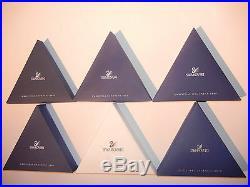 Swarovski Ornament Star Selection 1996 1998 2001 2003 2006 2009 2011 2012 +