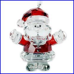 Swarovski Santa Claus Ornament Figurine Crystal Multi Colour 4.9 x 4.4 x 2.6