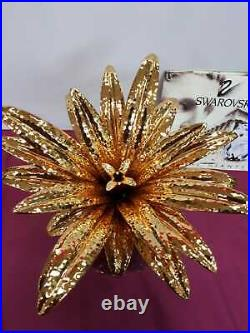 Swarovski Silver Crystal Giant Pineapple 010116 Retired 10 High Brand New
