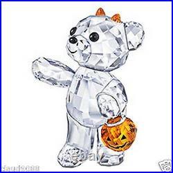 Swarovski Silver Crystal Halloween Kris Bear 2011 Limited Edition 1096026 Mint