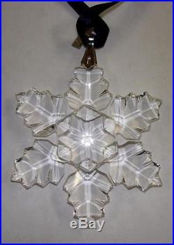 Swarovski Silver Crystal SWAROVSKI CHRISTMAS ORNAMENT 1996 ANNUAL