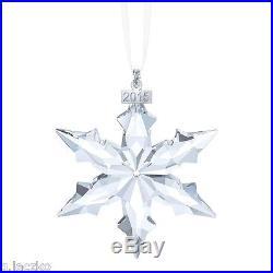 Swarovski Star Ornament Christmas Annual Crystal Snowflake New 2015 Large Big 1
