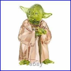 Swarovski Star Wars Master Yoda Crystal Sculpture 5393456