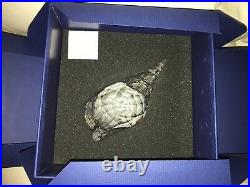 Swarovski Trumpet Triton Sea Shell Figurine Crystal Decoration 5123903 NEW
