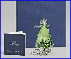 Swarovski WINTER TREE Christmas Ornament Crystal Figurine 1090188 NIB COA