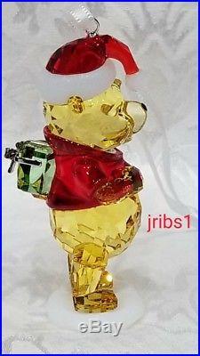 Swarovski Winnie The Pooh Christmas Ornament 5030561 Crystal Disney Xmas