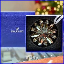 Swarovski Winter Star Ornament Gold Snowflake 2019 Christmas Crystal 5464857