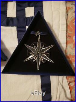 Swarovski crystal Christmas ornament lot