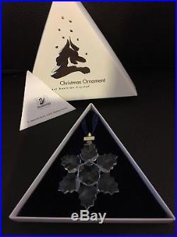 Swarovski crystal christmas ornament 1996