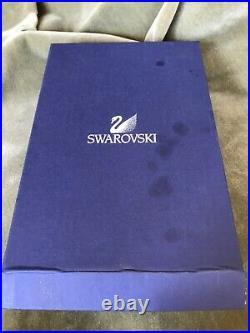 Swarovski snowflake Christmas tree Crystal topper with original box 6 1/4 tall