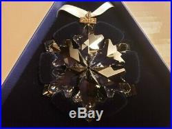 Swarowski Crystal, Large 2012 Annual Snowflake Christmas Ornament- NIB WithPaper