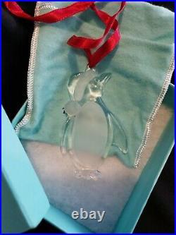 Tiffany Christmas ornament Penguin Rare