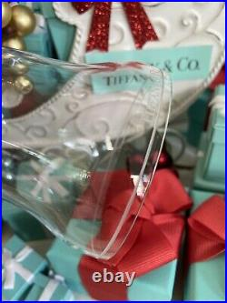 Tiffany&Co Crystal Bell Ornament 2017 Christmas Holiday 4.5 W Box Gift Ready