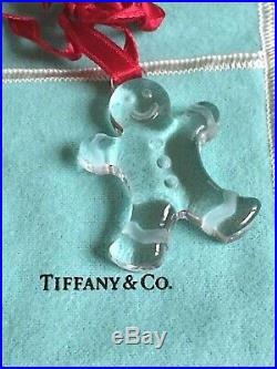 Tiffany & Co. Crystal Christmas Ornament GINGERBREAD MAN Last One