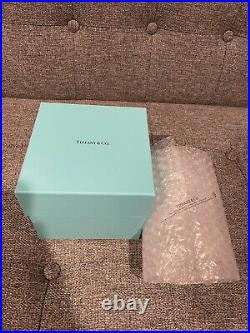 Tiffany & Co Crystal Glass Ball Ornament Christmas (2019) Brand New in Box