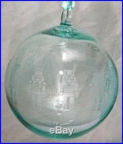 Tiffany & Co Crystal Nutcracker Ball Ornament Christmas 2018 Holiday