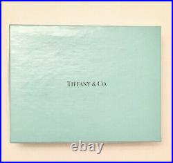 Tiffany & Co. Crystal Sleigh Ornament with Box And Pouch