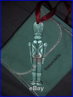 Tiffany & Co. Crystal Soldier Christmas Ornament Very Rare