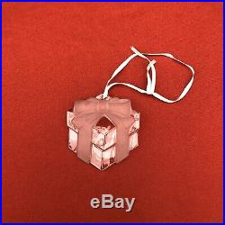 Tiffany & Co. Vintage Crystal Christmas Ornaments Collection Of 7