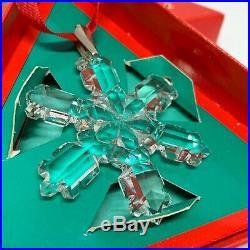 VERY RARE Retired Swarovski Crystal 1992 Christmas Snowflake Star 168690 Boxed