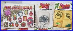Vintage Christmas MakeIt BakeIt Baking Crystals Frames Suncatchers Ornaments Lot