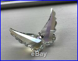 Vtg 2013 Swarovski Crystal Angel Wings Christmas Ornament Very Rare