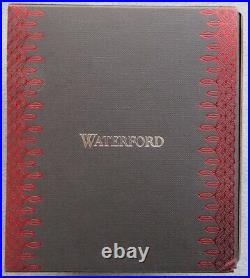 WATERFORD Crystal 2019 Annual Ruby Cased Ball Ornament New in Box