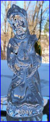 WATERFORD Crystal Nativity Figurines Three Kings Wise Men New in Box