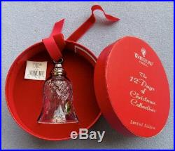 Waterford 12 Days of Christmas 7 Swans a Swimming Bell Mint in Box W Label