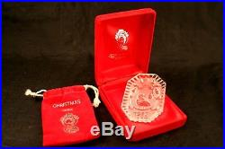 Waterford 12 Days of Christmas Crystal Ornament in Box 1982 First in Series