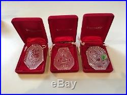Waterford 12 days of christmas ornaments (1987-1995)