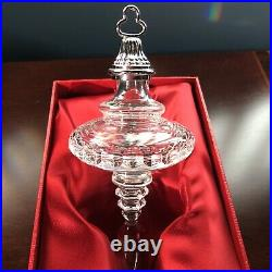 Waterford 2004 Snow Crystals Spire Christmas Tree Ornament MIB
