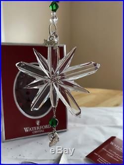 Waterford 2007 Crystal 1st Ed Partridge 12 Days Of Christmas Ornament Nib