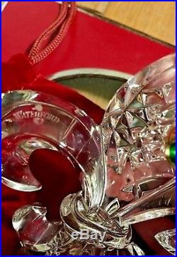 Waterford 2009 Three French Hens 12 Days of Christmas Ornament Fleur de lis