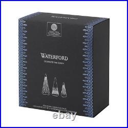 Waterford Christmas Tree Set/3 (3.9, 4.9, 5.9) NIB