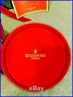 Waterford Crystal 11 Pipers Piping Bell Ornament 12 Days of Christmas Mint MIB