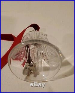 Waterford Crystal 12 Days Of Christmas Bells #9 Ladies Dancing in Box