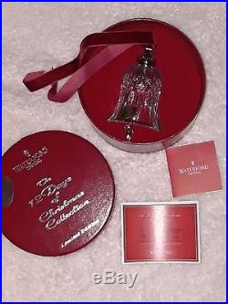 Waterford Crystal 12 Days of Christmas 12 Drummers Drumming Bell Ornament