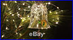 Waterford Crystal 12 Days of Christmas 12 Drummers Drumming Bell Ornament MINT
