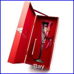 Waterford Crystal 12 Days of Christmas Flute 7 Swans a Swimming MINT+Box Ireland