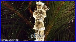 Waterford Crystal 12 Days of Christmas Ornament 11 PIPERS PIPING 2005 MIB