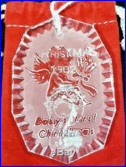 Waterford Crystal 12 Days of Christmas Ornaments Set of 14pc