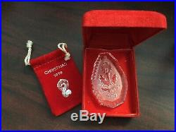Waterford Crystal 12 Days of Christmas Ornaments includes rare 1982 original
