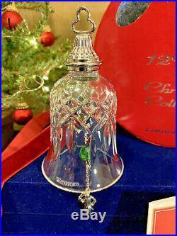 Waterford Crystal 12 Drummers Drumming- Days Of Christmas Bell Ornament Mint