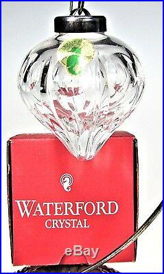Waterford Crystal 1993 Annual Ball Holiday Christmas Ornament Ireland