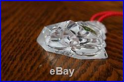 Waterford Crystal 1999 Twelve Days of Christmas Five Golden Rings Comm. Ornament