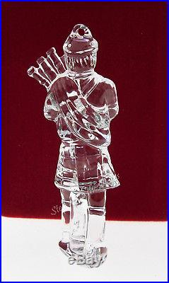 Waterford Crystal 2005 11 Pipers Piping Christmas Tree Ornament 12 Days MIB