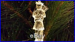 Waterford Crystal 2005 11 Pipers Piping Ornament 12 Days of Christmas EXC Box