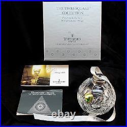 Waterford Crystal 2005 Hope For Wisdom Times Square Ball Xmas Tree Ornament MIB