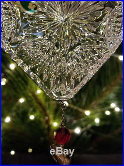 Waterford Crystal 2008 12 Days of Christmas Two 2 Turtle Doves Ornament 2nd